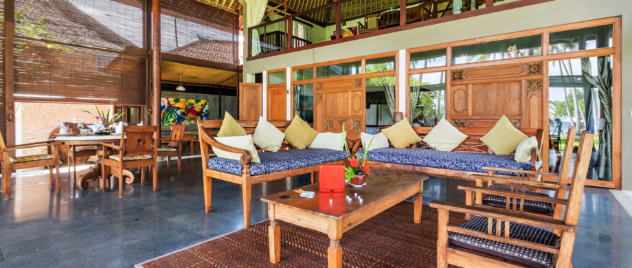 Interior photo of Villa Yoga Bale at Citakara Sari Estate in Bali