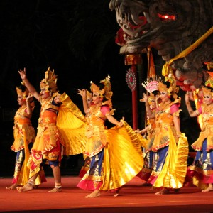 Balinese dance from the Citakara Sari Estate cultural immersion program