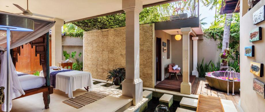 Spa accommodations for your Bali vacation at Villa Joglo at Citakara Sari Estate