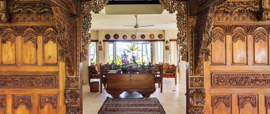 Ocean views and elegant craftsmanship at Villa Joglo at Citakara Sari Estate