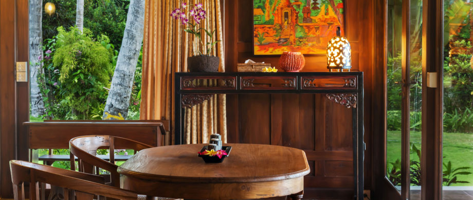 A relaxing interior photo of Villa Saraswati at Citakara Sari Estate in Bali