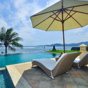 Ocean front vacation destination Citakara Sari