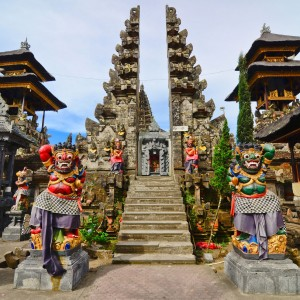 Bali temple vacation destination near the Citakara Sari